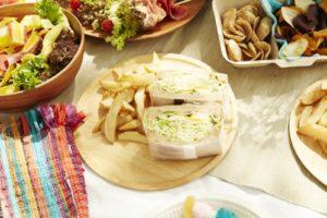 おしゃれなピクニック(サンドイッチ)