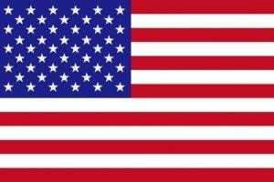 アメリカ国旗のイラスト