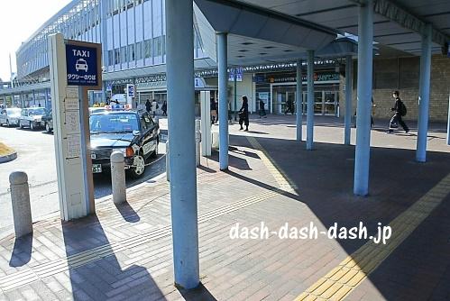 岡山駅タクシーのりば