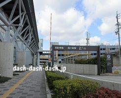 岡崎市役所西駐車場