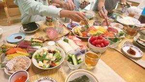 ホームパーティー(手巻き寿司)