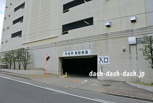 岡崎市役所東駐車場