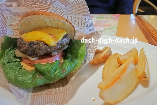 炭焼きレストランさわやか03(ハンバーガー)