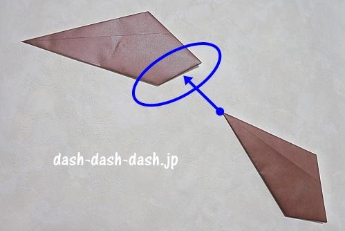 折り紙リース(8枚)の簡単な作り方10