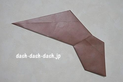 折り紙リース(8枚)の簡単な作り方11