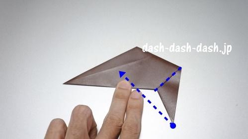 折り紙リース(8枚)の簡単な作り方08