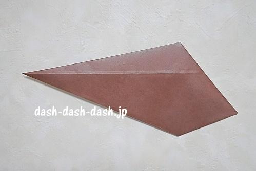 折り紙リース(8枚)の簡単な作り方09