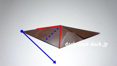 折り紙リース(8枚)の簡単な作り方06