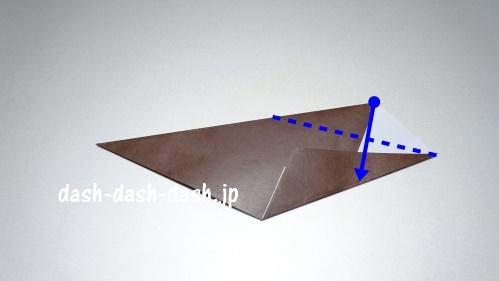 折り紙リース(8枚)の簡単な作り方05