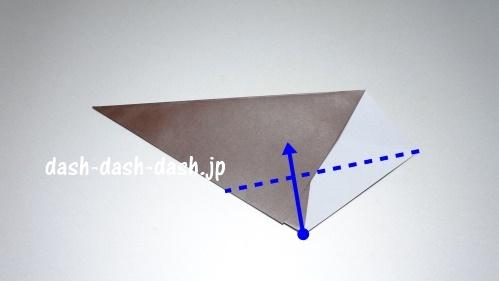 折り紙リース(8枚)の簡単な作り方04