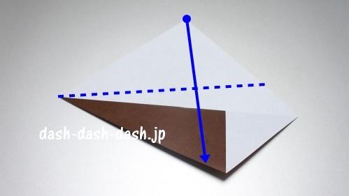折り紙リース(8枚)の簡単な作り方03