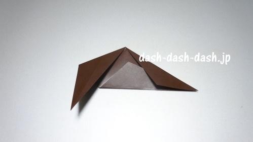 折り紙リース(8枚)の簡単な作り方07