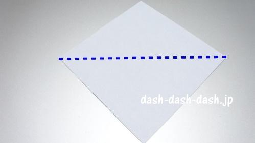 折り紙リース(8枚)の簡単な作り方01