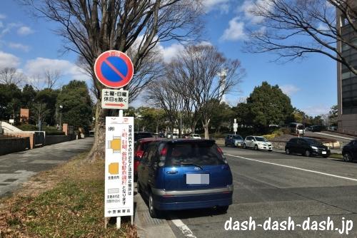 愛知県護国神社前の道路01