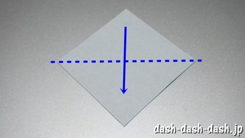 笹の葉の折り紙の作り方02