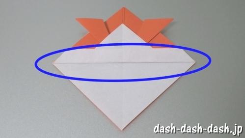 [七夕]金魚の折り紙の折り方(簡単かぶと)09