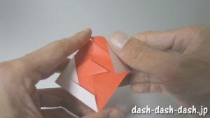 [七夕]金魚の折り紙の折り方(簡単かぶと)18