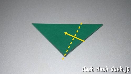 笹の葉の折り紙の作り方03