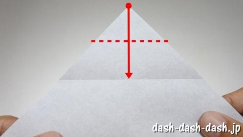 彦星の折り紙の折り方39
