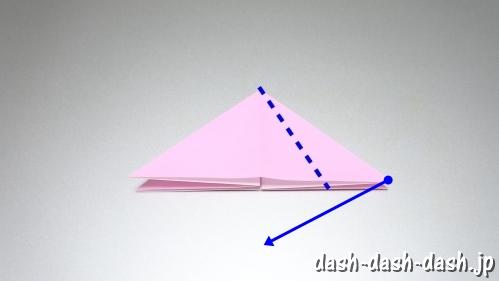 織姫の折り紙の折り方(簡単)06
