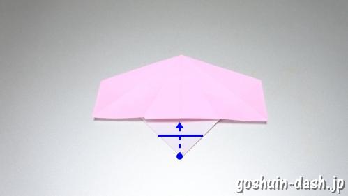 織姫の折り紙の折り方(簡単)10