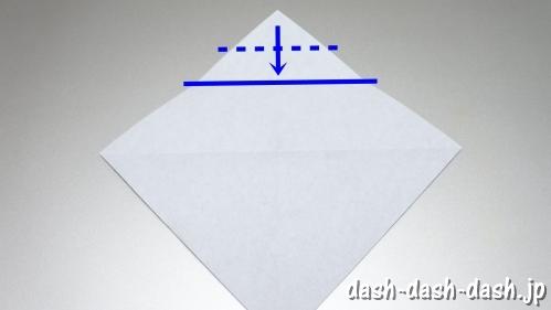 織姫の折り紙の折り方(簡単)20