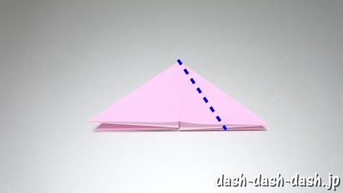 織姫の折り紙の折り方(簡単)04