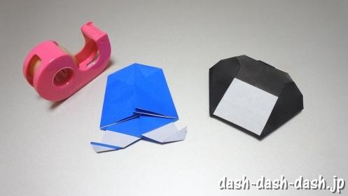 彦星の折り紙の折り方45