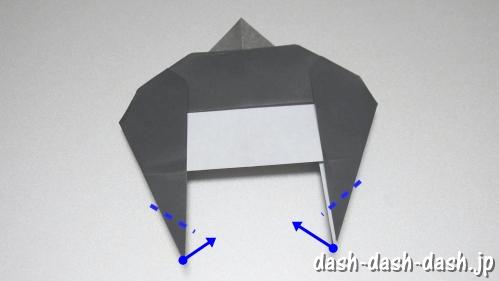 織姫の折り紙の折り方(簡単)32
