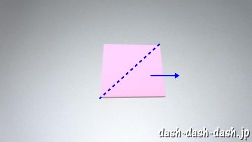 織姫の折り紙の折り方(簡単)36