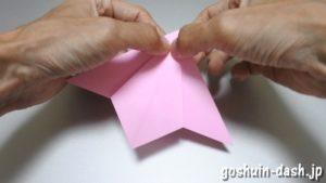 織姫の折り紙の折り方(簡単)51