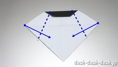 織姫の折り紙の折り方(簡単)22