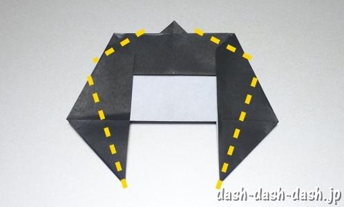 織姫の折り紙の折り方(簡単)30