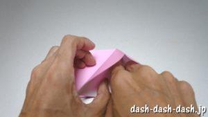 織姫の折り紙の折り方(簡単)38