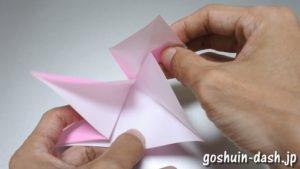 織姫の折り紙の折り方(簡単)53