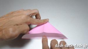 織姫の折り紙の折り方(簡単)46-1
