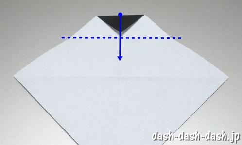 織姫の折り紙の折り方(簡単)57