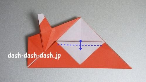 サンタの折り紙(立体)99-02