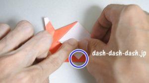 サンタの折り紙(立体)99-01