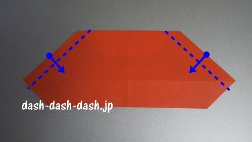 サンタの折り紙の簡単な折り方50
