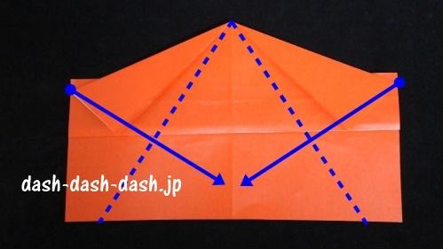 サンタの折り紙(顔)47