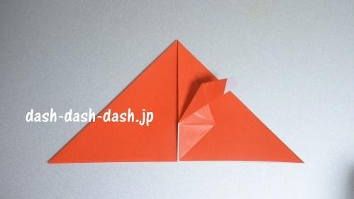 サンタの折り紙(立体)87