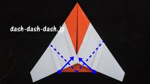 サンタの折り紙(顔)48