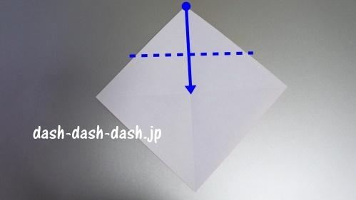 サンタの折り紙の簡単な折り方40