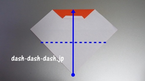 サンタの折り紙の簡単な折り方45