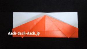 サンタの折り紙(顔)37