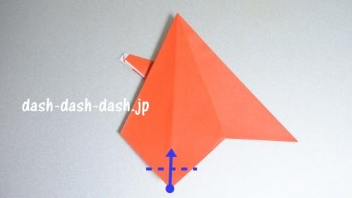 サンタの折り紙(立体)90