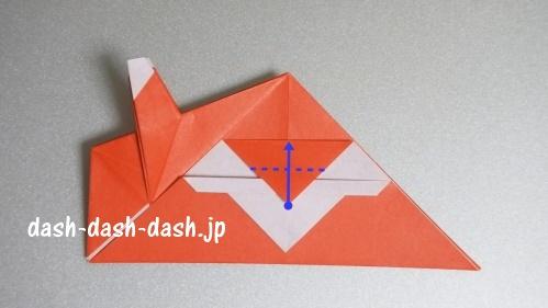 サンタの折り紙(立体)99-05