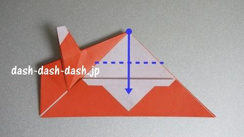 サンタの折り紙(立体)99-04