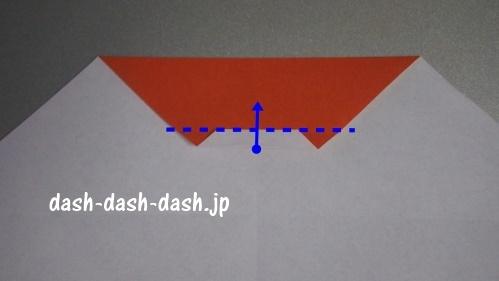 サンタの折り紙の簡単な折り方44
